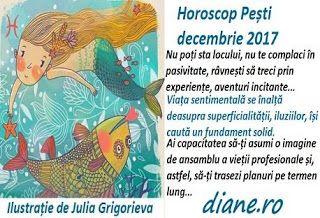 Horoscop decembrie 2017 Pești