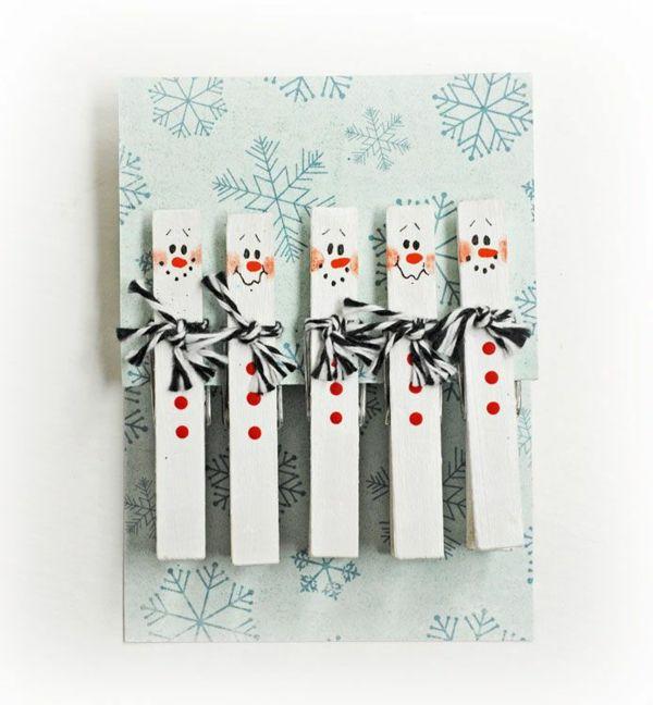 Basteln Mit Holzklammern Weihnachten Dansenfeesten