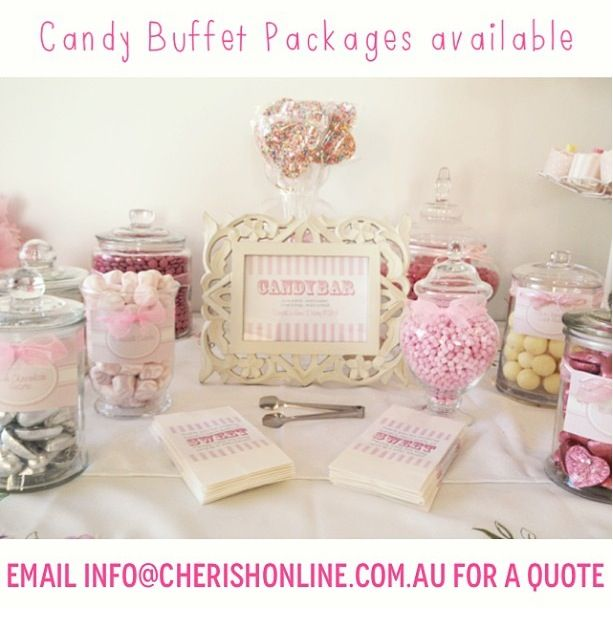 Hire cherish to style your candy buffet xx