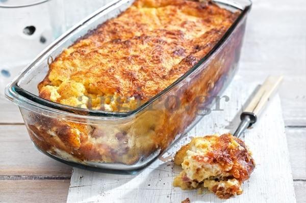 H Αργυρώ μαγειρεύει κανταΐφι σουφλέ με τυριά, ζαμπόν και πιπεριές Φλωρίνης!
