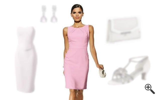 Schicke kleider in pink