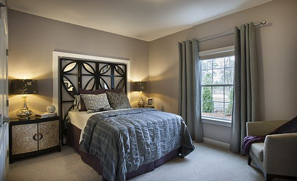 Inviting guest bedroom #2 - room size is 14 x 11 | Magnolia Model ...