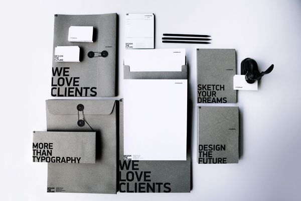 We love clients. We are more than typography. We are mad about branding. We take care of the little things to make a big impact. We design the future.