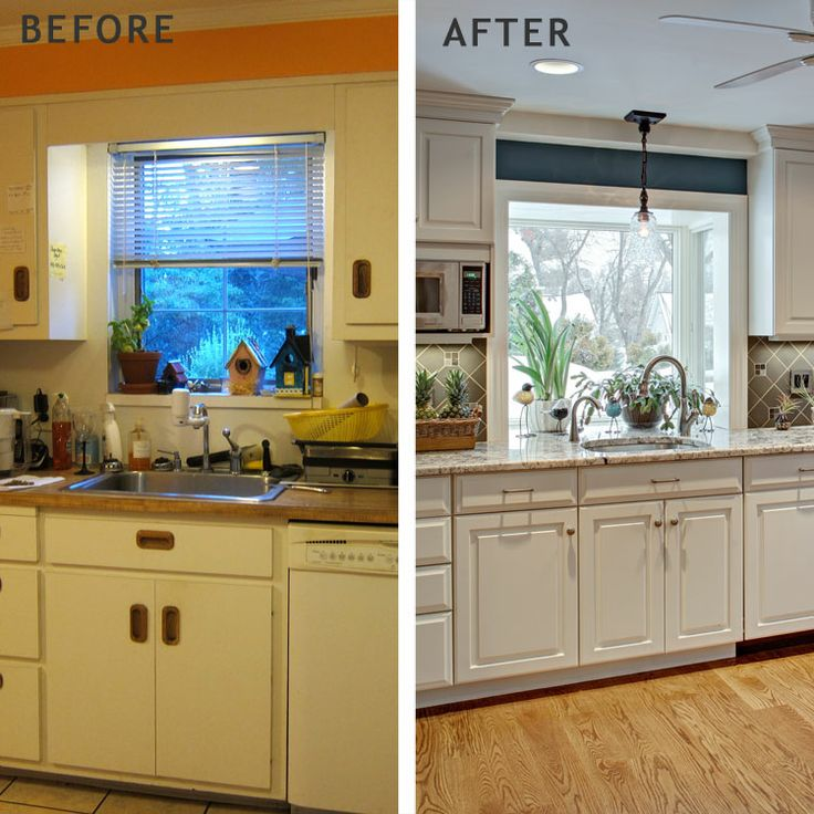 Green Kitchen New Jersey: Before And After Kitchen Remodel