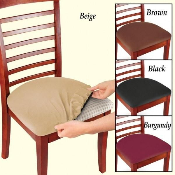 Elastic Bar Stool Covers Stain Resistant Chair Seat Cover Cushions Protector