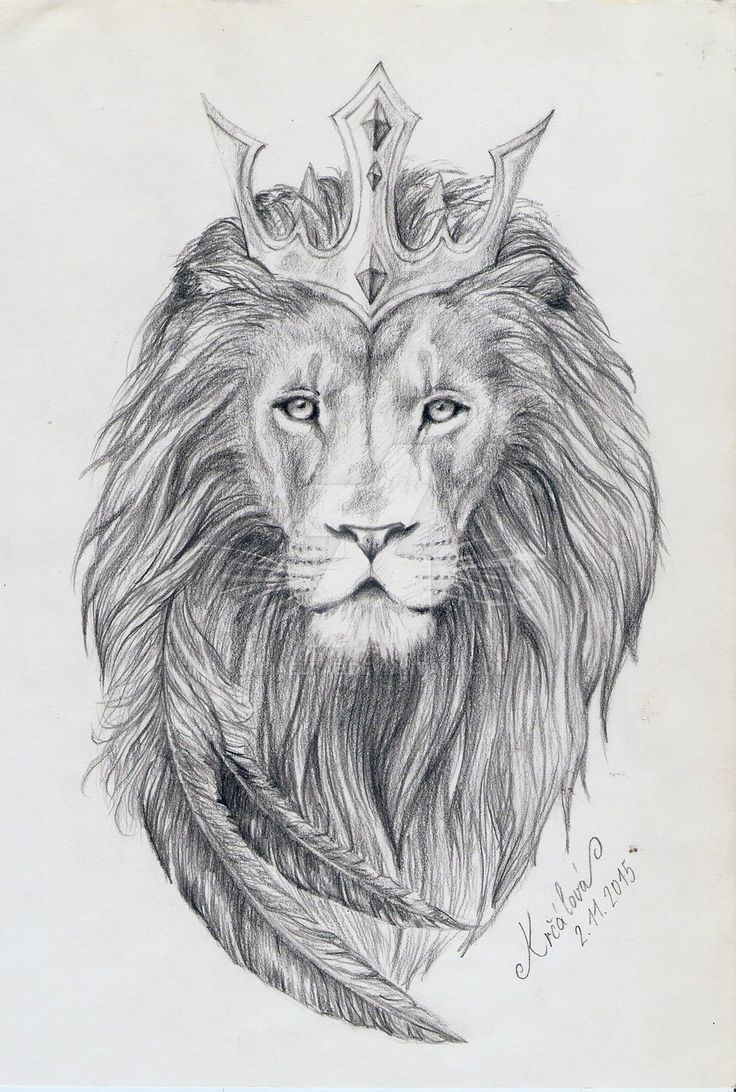 Tattoo Design - Lion King by MiraelFae
