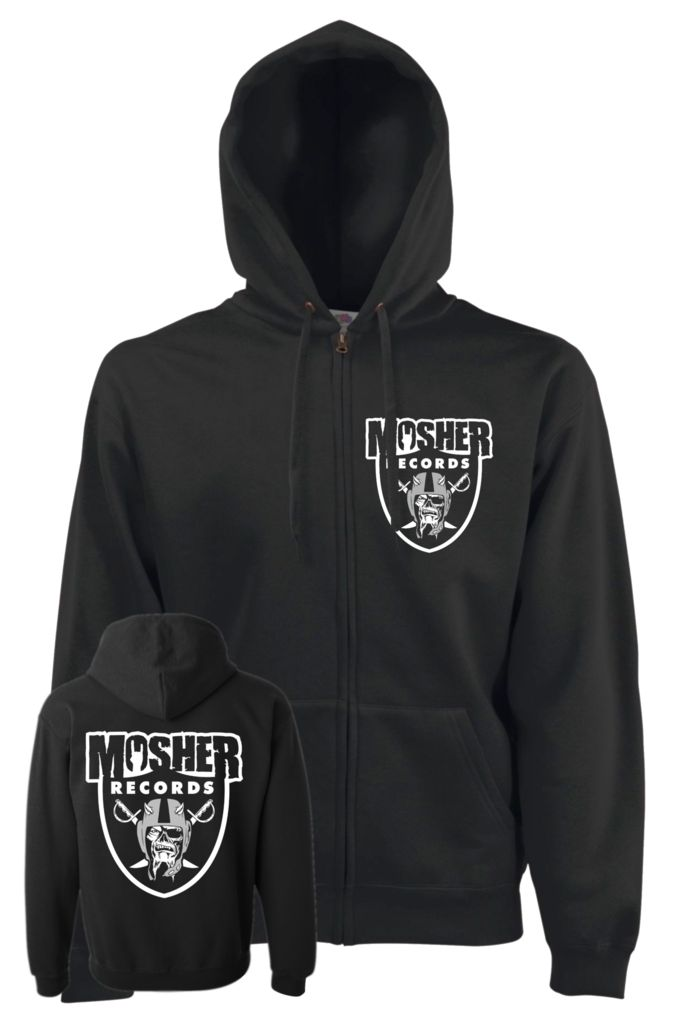 Mosher Records Zipped Hoodie - Mosher Clothing
