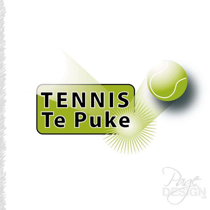 Logo design for Tennis Te Puke, Te Puke, NZ