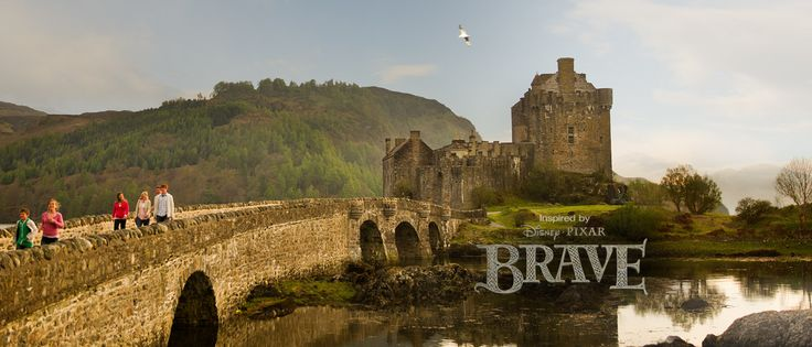 Travel to Scotland see historic castles that inspired Pixar's Brave with our Scotland vacation package. Adventures By Disney