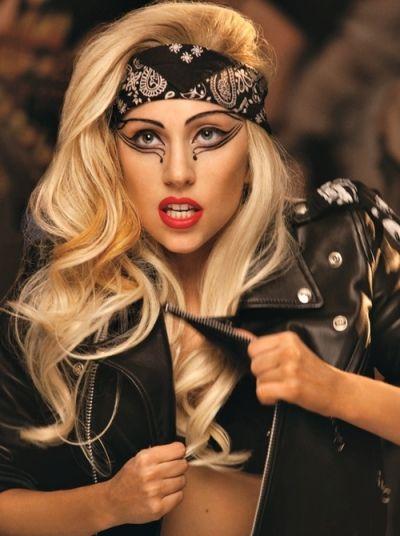 Lady Gaga's Rebel Rockstar Look