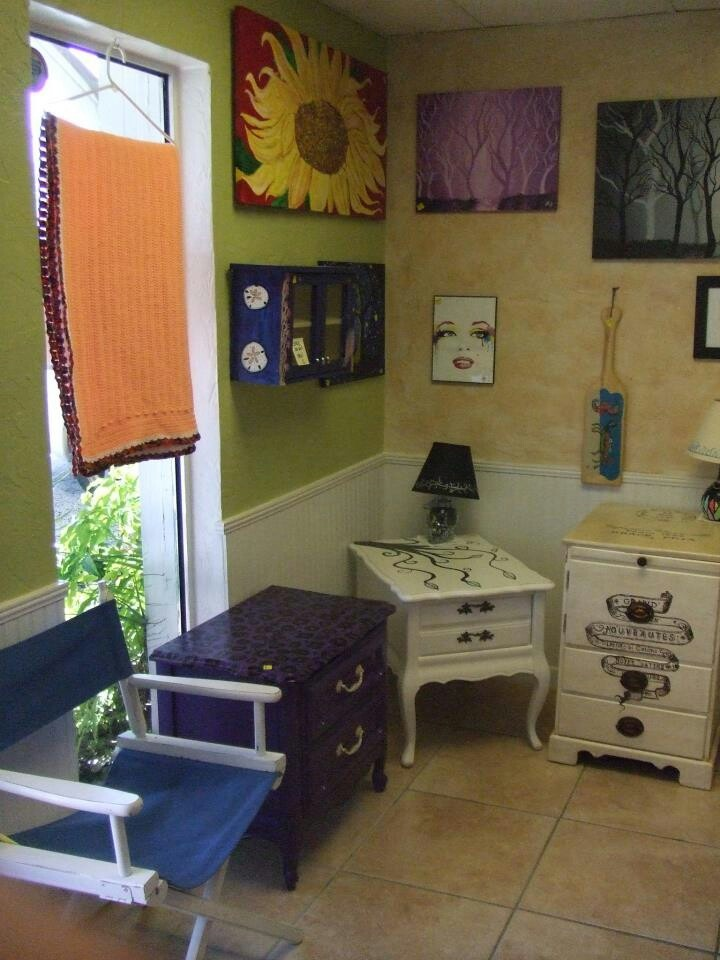 Brandon Scott Fine Art And Painted Furniture Is Now Available At The Treasure Chest In Bradenton