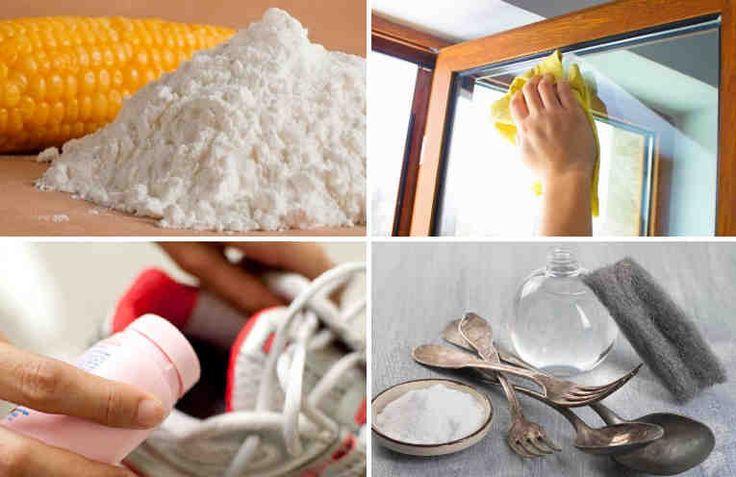 El almidón de maíz es un producto que puede encontrarse en la mayoría de los hogares del mundo. A pesar de utilizarlo comúnmente para preparar galletas y espesar salsas, este producto puede ayudarte a resolver muchas otros aspectos de la vida cotidiana. Si quieres simplificar tu vida y ahorrar tiemp