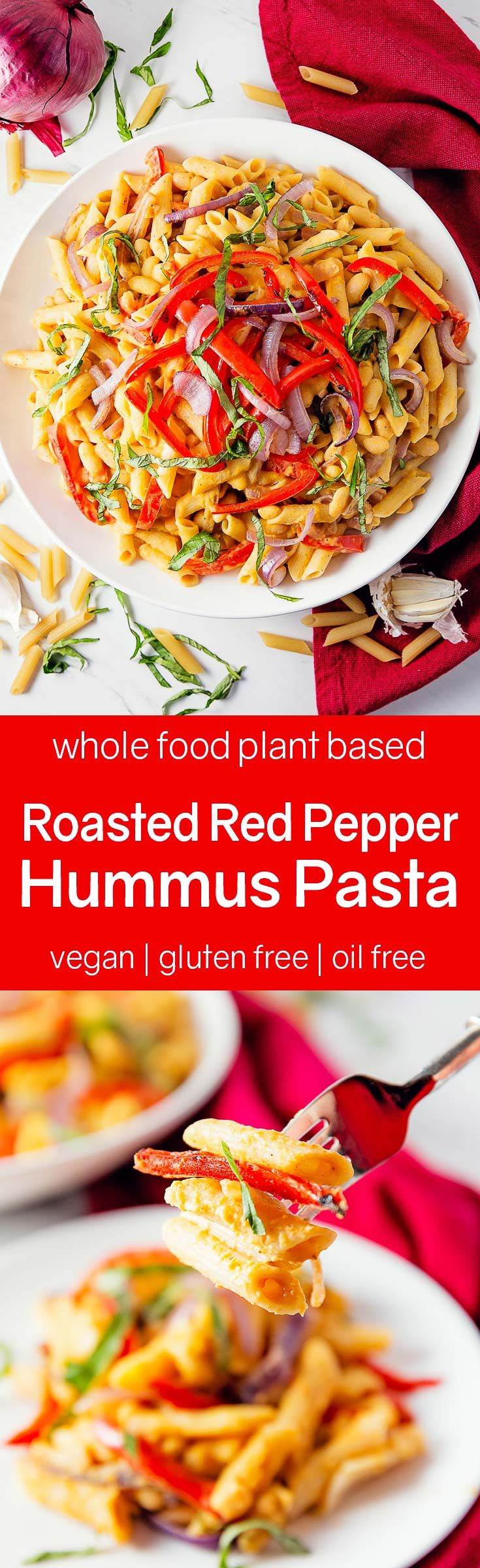 Best 25 whole food recipes ideas on pinterest whole 30 recipes roasted red pepper hummus pasta forumfinder Choice Image