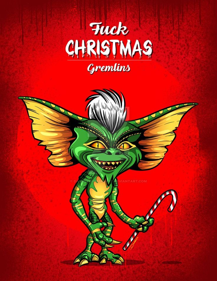 Gremlins Fuck Navidad Fanart / Vectores / Artdigital  #gremlins #comic #comics #art #arte #artist #artdigital #Digital #terror #