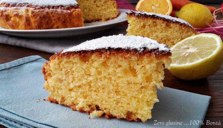 La Torta Acesenzaglutine è molto semplice da preparare ed è perfettaperuna merenda sana ,golosa e nutriente .