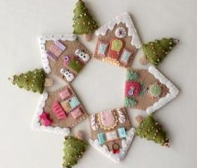 Gingerbread Houses pdf Pattern
