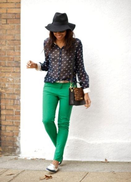 зеленые джинсы - Поиск в Google