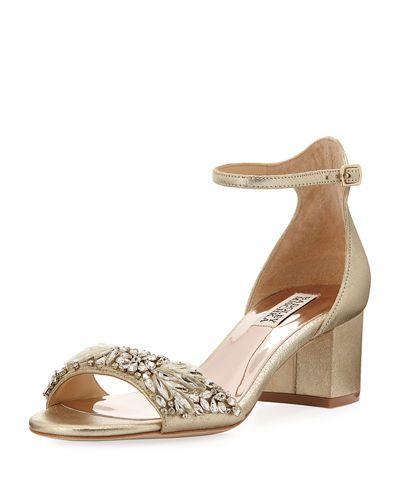 Tamara Low-Heel Dressy Sandal