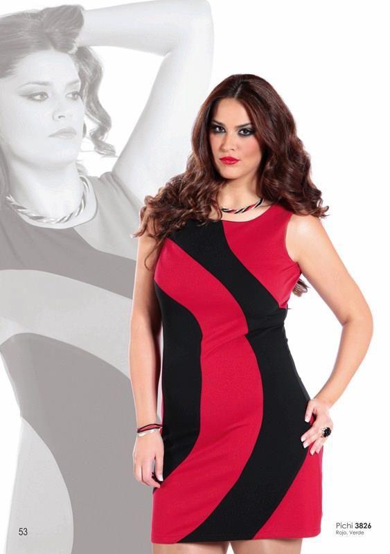 Para las re-llenitas de personalidad... Este vestido es muy sentador a pesar de sus líneas curvas... pinned with Pinvolve