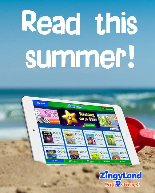 Enjoy interactive stories wherever you go this summer! Read-Play-Win!
