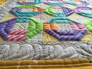 オクダゴンのパッチワークパターン ミシンでの作り方 O Quilt block– Patchwork Quilt パッチワークミシンキルトNakazawa Felisa 中沢フェリーサ