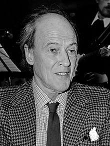 Roald Dahl in 1982
