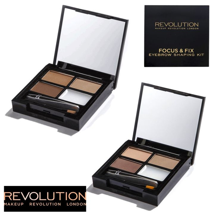 Image result for makeup revolution Focus & Fix Brow Kit