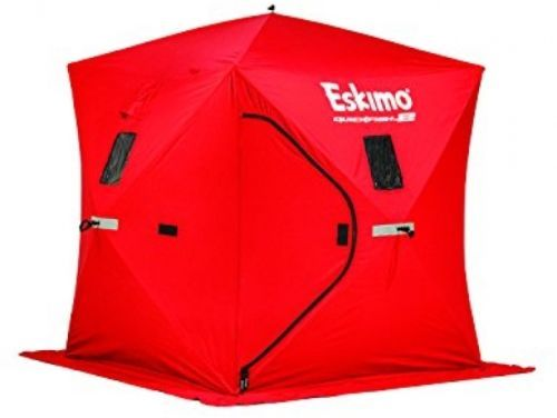 Eskimo Quickfish Pop Up Portable Ice Shelter Person Fishing Winter Sport Shelter | eBay