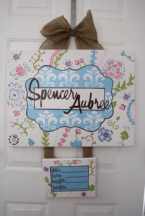 baby hospital door decorations Baby Hospital by DoodlesbyTrista