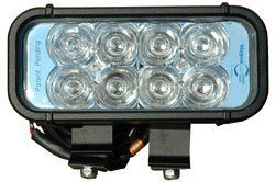 LED Light Bar Emitter - 8 3-WATT LEDs - Aluminum Housing - 1440 Lumens- 9-42V - 325'L X 70'W Beam(-W by Magnalight. $273.50. LED Light Bar Emitter - 8 3-WATT LEDs - Aluminum Housing - 1440 Lumens- 9-42V - 325'L X 70'W Beam(-White-Spot). Buy American CompliantThe Magnalight LEDLB-8 LED Light Bar offers high light output and a compact profile combined with versatile mounting and power options. This IP67 rated LED light bar is waterproof to one meterand produces 1,440...