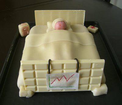 """SUCRISSIME: le Gâteau """"spécial infirmière"""""""