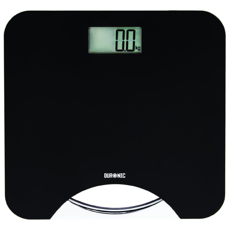 Duronic [ BS801 ] Touch Sense 180KG (395lbs) Electronic Slim Digital display Black Bathroom Scales with Carry Handle -- You can find out more details at the link of the image.