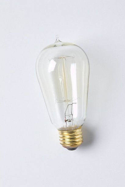 Lighting | Bulb | Edison Bulb, Slim | #Anthropologie