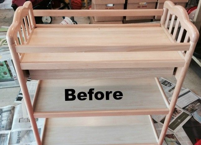 After Baby Outgrew Her Changing Table, Mom Upcycled It BRILLIANTLY!! - http://www.wisediy.com/after-baby-outgrew-her-changing-table-mom-upcycled-it-brilliantly/