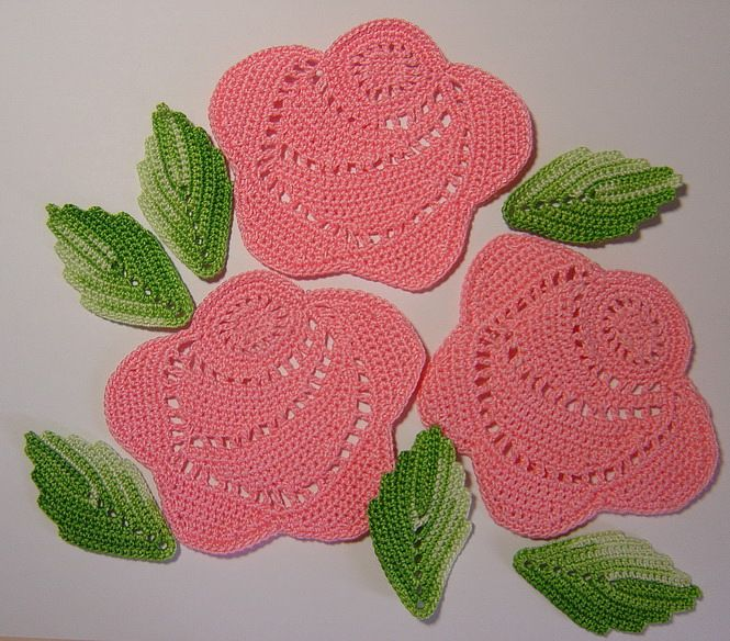 crochet tutorials for roses