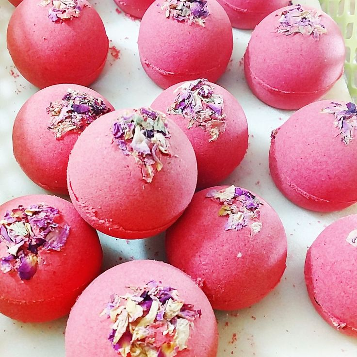 Roses are Red with our Rose Bath bombs for your bubble bath time.