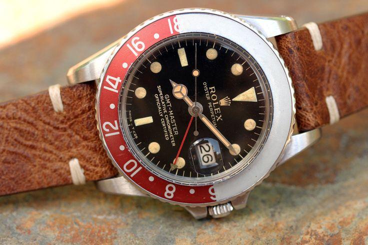 Rolex 1675 GMT-Master Special Order  https://www.thehairspring.com/finds/2017/6/rolex-1675-gmt-master-special-order