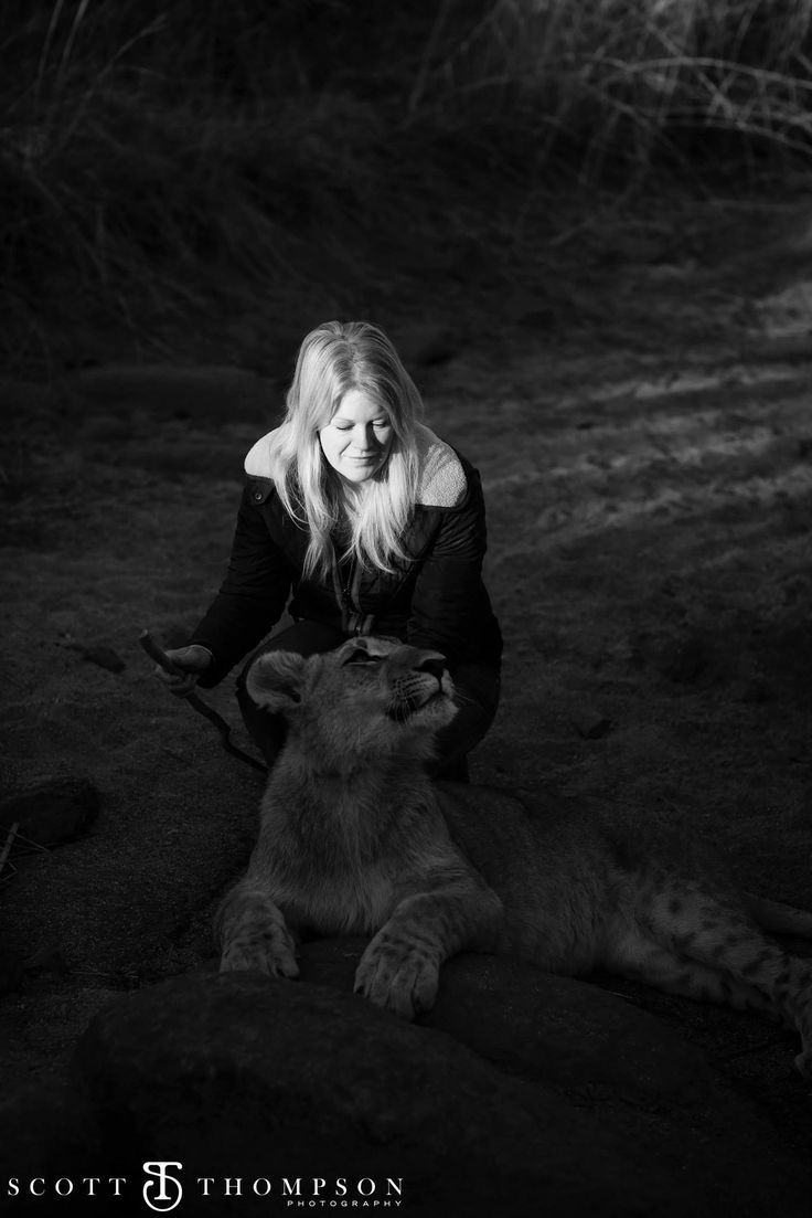 A walk with the lions, an experience not to be missed!