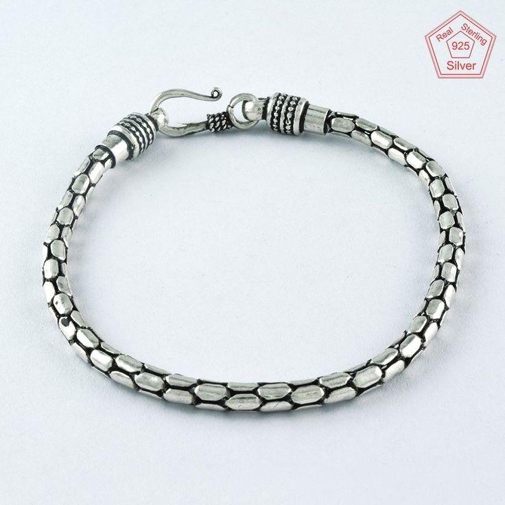 INCREDIBLE DESIGN 925 STERLING SILVER BRACELET BR4375 #SilvexImagesIndiaPvtLtd #Chain