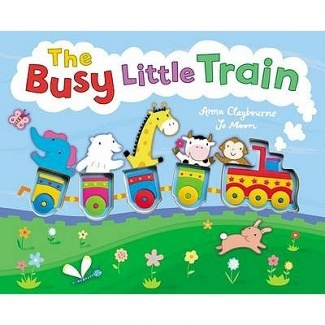 The Busy Little Train by Anna Claybourne,  Jo Moon
