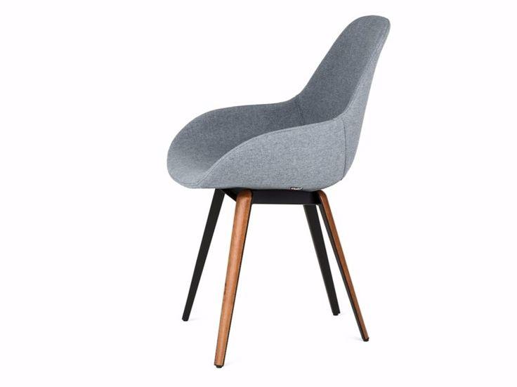 Cadeira estofada SLICE DIMPLE POP by KUBIKOFF design Sander Mulder