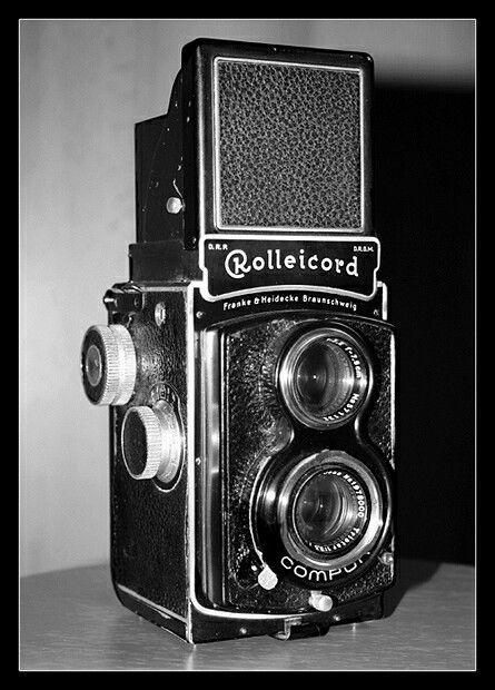 Meine Rolleicord II a - BJ 1937 - Rollei 6x6 Mittelformat Rollfilm Kamera - Toycam - Boxkamera - Analog Photography
