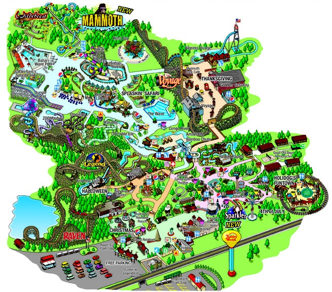 13 best images about Holiday World on Pinterest Parks Park in and World