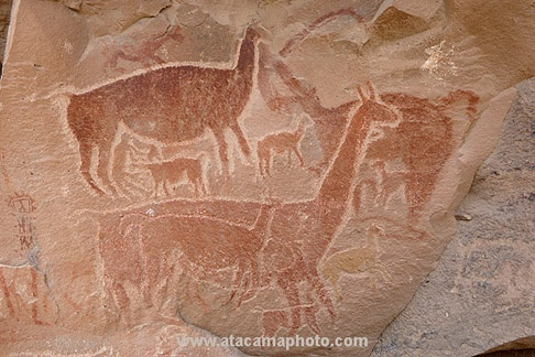 Ancient rock paintings of Taira