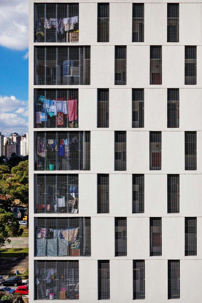 Galeria de Conjunto Habitacional do Jardim Edite / MMBB Arquitetos + H+F…