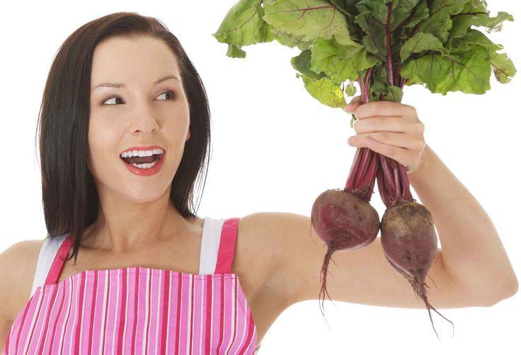 Giftfritt och ätbart: Gör naturligt smink av rödbetor