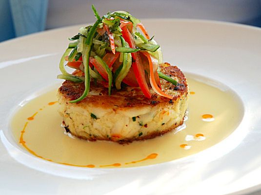 crab cake salad - Google Search