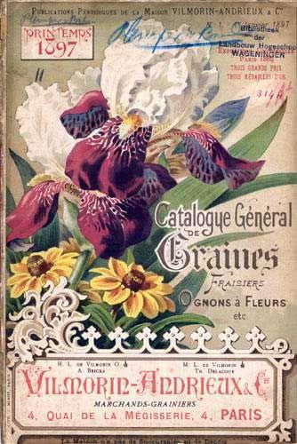 Vilmorin & Cie: Catalogue général de graines, fraisiers, ognons à fleurs, etc. Printemps 1897.