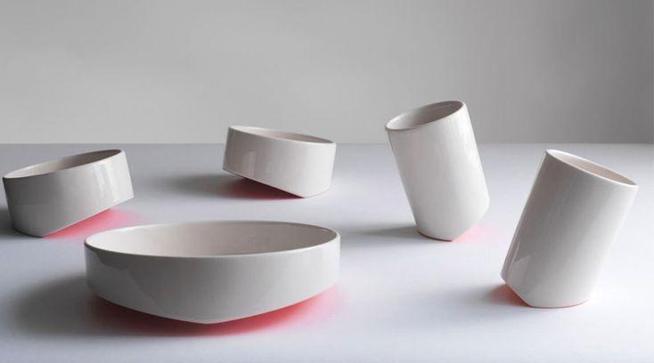 Share.food, da designer turca Bilge Nur Saltik, louças em cerâmica que convidam a compartilhar a refeição
