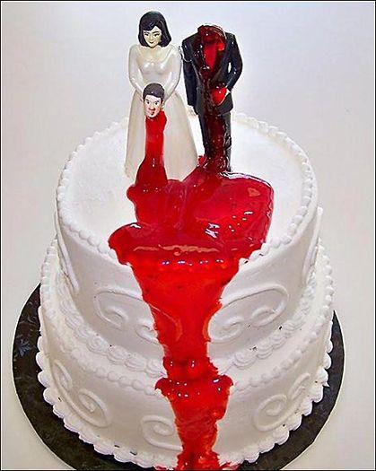 gâteau de divorce